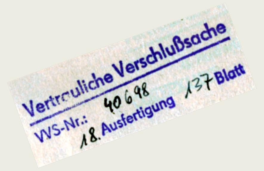 VVS_Stempel der DDR